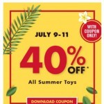 Coupon for: Red Apple - Save on Summer Toys!