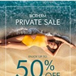 Coupon for: Biotherm Canada - Private Sale starts now! Up to 50% OFF