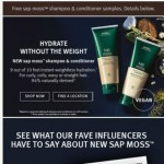 Coupon for: Aveda Online - Everyone is talking about New sap moss! Try it for Free