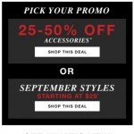 Coupon for: GUESS Factory Men - Extra Discounts & Two More Sale Offers