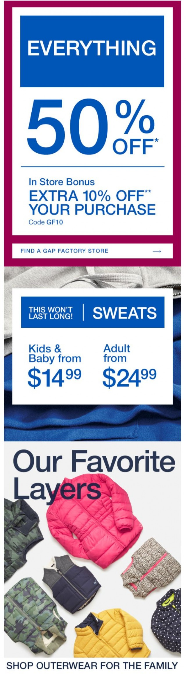 Coupon for: Gap - Hurry, it started!