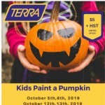 Coupon for: TERRA Greenhouses - Paint A Pumpkin - This Weekend - Spend $5 Get $5!