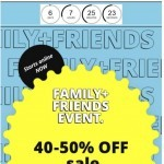 Coupon for: Bench - SALE | 40-50% OFF | Family + Friends Event