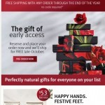Coupon for: Aveda - Sneak a peek at our Gift Guide | 4 Free bestsellers