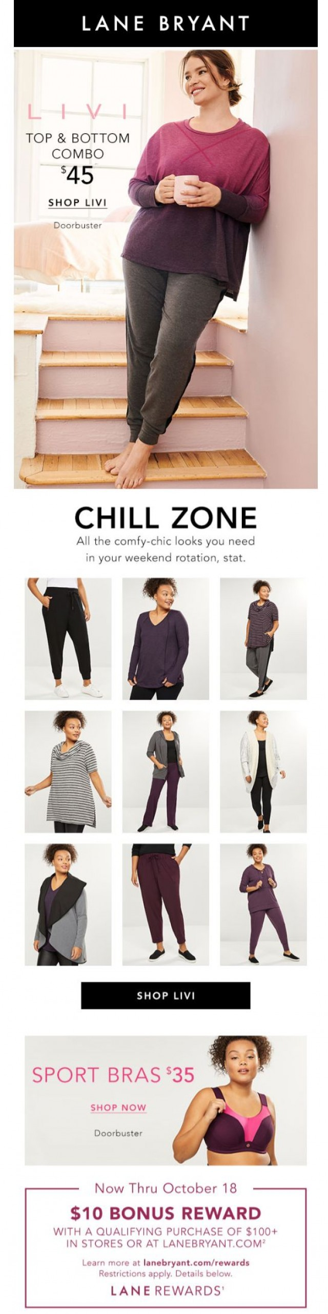 Coupon for: Lane Bryant - Wait. ALL this for only $45?!