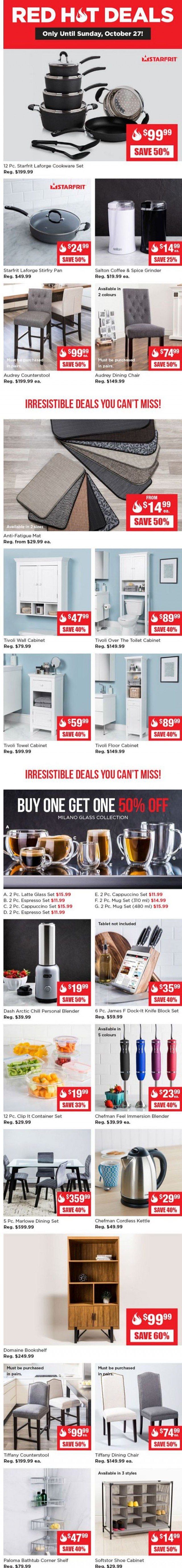 Coupon for: Kitchen Stuff Plus - Your Red Hot Deals Are Here