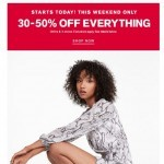 Coupon for: Express - And… GO! Up to 50% off DRESSES starts today