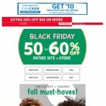 Coupon for: carter's - BLACK FRIDAY… be the first!
