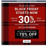Coupon for: G.H. Bass & Co. Factory Outlet  - EXTRA 30% OFF – Start Checking Off Your List