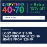 Coupon for: Gap Factory Canada - 40-70% off starts RIGHT NOW