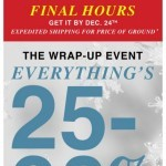 Coupon for: GUESS Factory Men - Final Hours to Get Your. In Time.