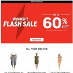 Coupon for: Sport Chek - Ending Soon! Women's Flash Sale Up To 60% Off