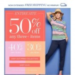 Coupon for: TALBOTS - How to Master Stay-at-Home Style + up to 50% OFF!