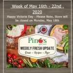 Coupon for: Pino's - Fresh Update