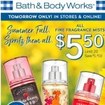 Coupon for: Bath & Body Works - got plans TOMORROW?